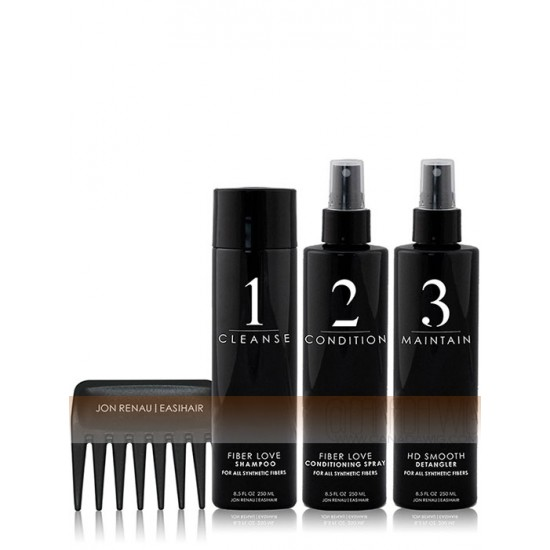 5 Piece Hair Care Kit with Wig Stand