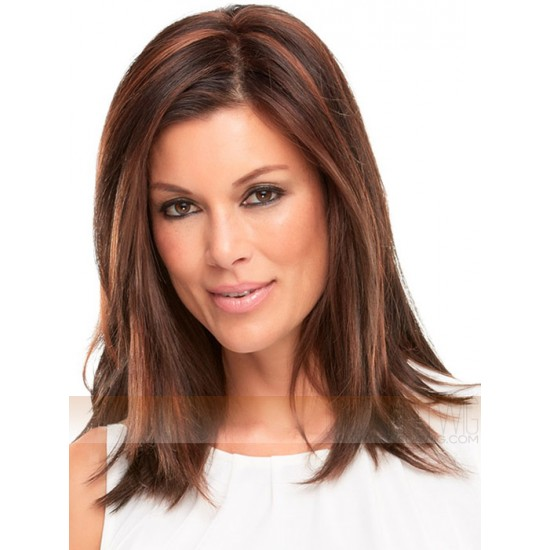 Top Style Synthetic 12 Mono Hair Topper by Easihair