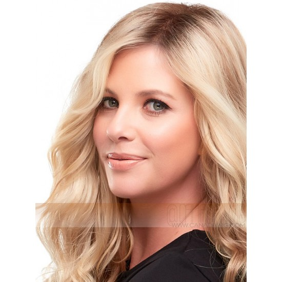 Top Wave Synthetic Mono Hair Topper by Easihair