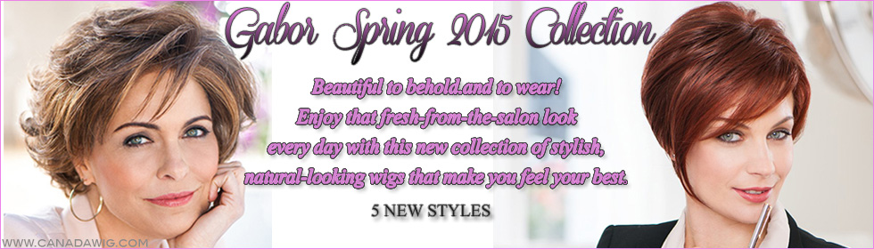 Gabor Wigs 2015 Spring Collection | www.canadawig.com