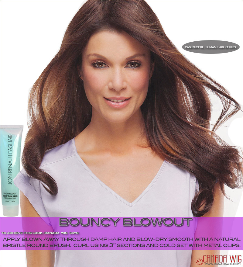 easiPart styling Bouncy Blowout | canadawig.com