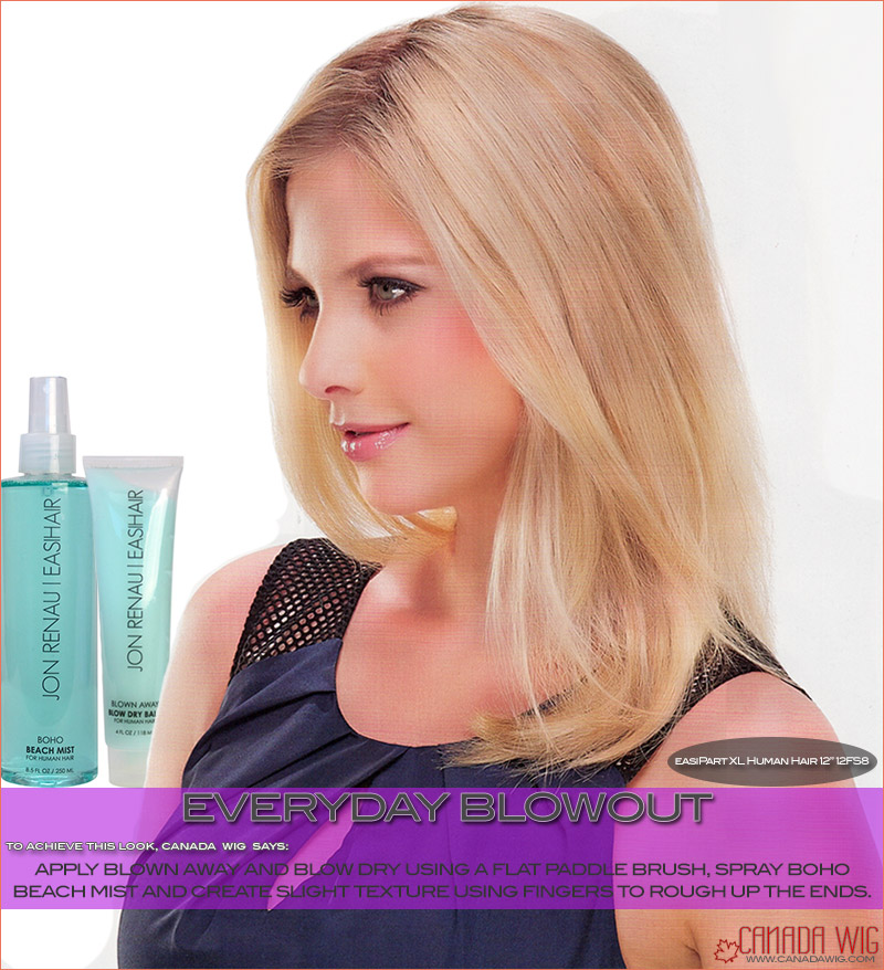 easiPart styling Everyday Blowout | Hair Toppers in Toronto