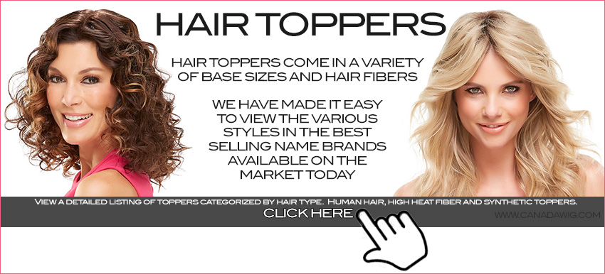 Female Hair Loss Toppers Canada