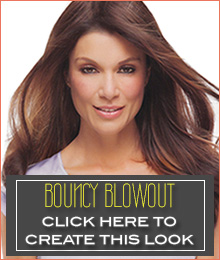 bouncy blowout styling your remy human hair hair topper