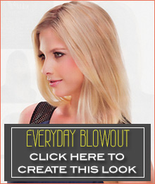 Creating an everyday blowout look with your human hair topper | canadawig.com