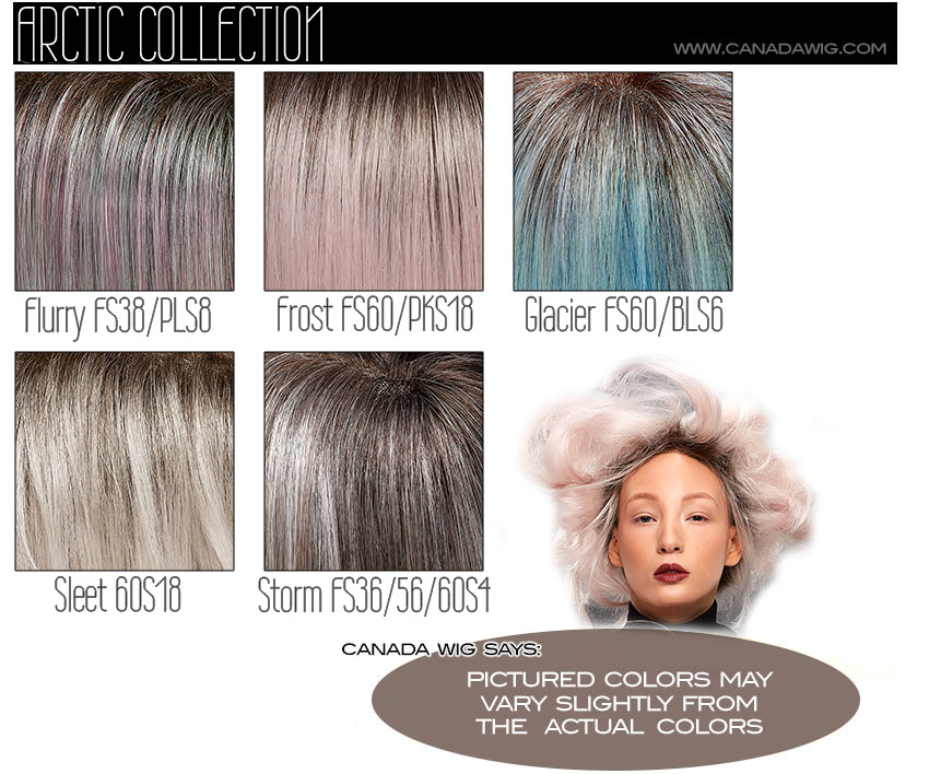 Arctic Collection Color Chart by Jon Renau