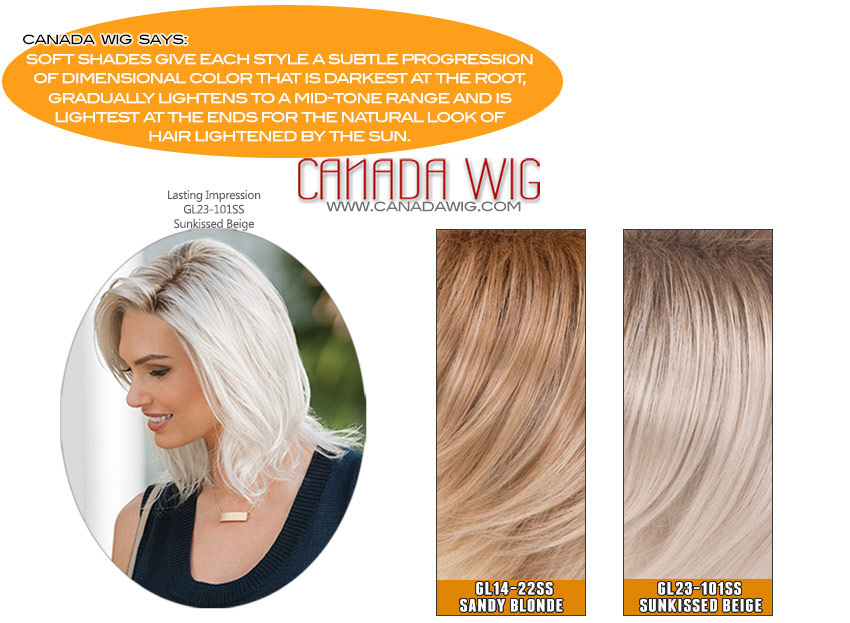 Gabor Soft Shades Color Chart | Canada Wigs