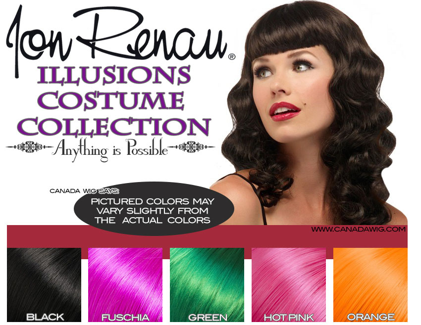 Illusions Costume Collection Wigs www.canadawig.com