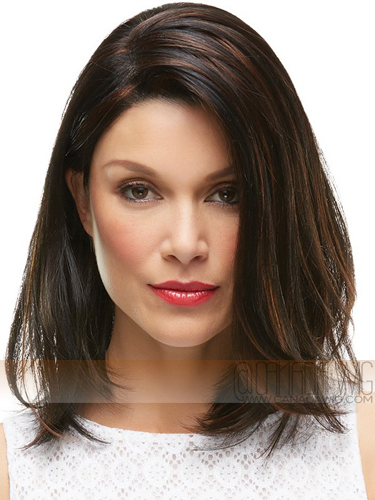 Karlie Lace Front Hand-Tied Monofilament Wig