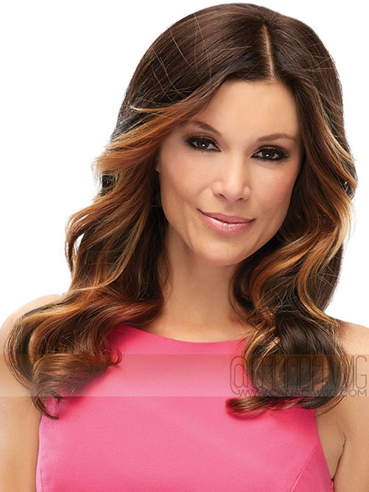 Add Volume for Thinning Hair or Hair Loss with Top Level Hair Topper by Jon Renau